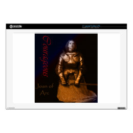 """Joan of Arc Decal For 17"""" Laptop"""