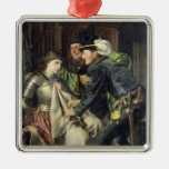 Joan of Arc  Insulted in Prison, 1866 Christmas Tree Ornaments