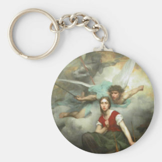 Joan of Arc Keychain