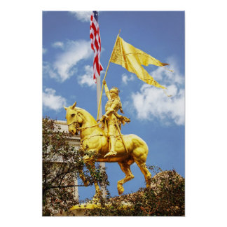 Joan of Arc, New Orleans, Louisiana Posters