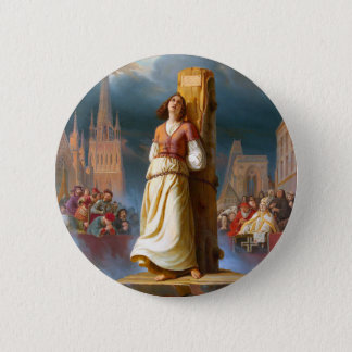 Joan of Arc Pinback Button
