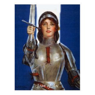 Joan of Arc Postcard