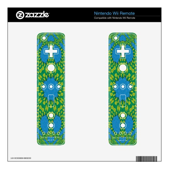 Joan of Arc Quote With Amazing Design Wii Remote Decal