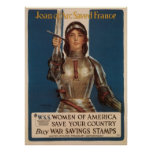 Joan of Arc Saved France Poster