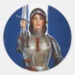 Joan of Arc stickers