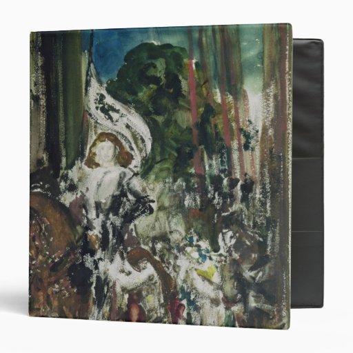 Joan of Arc Vinyl Binder