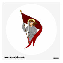 Joan of Arc Wall Sticker