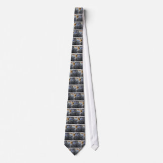 Joan of Arc with banner Neck Tie
