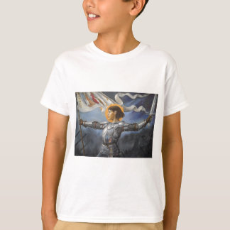 Joan of Arc with banner T-Shirt