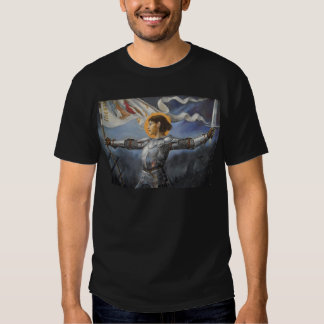 Joan of Arc with banner T Shirt