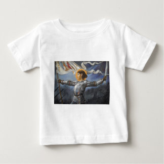Joan of Arc with banner Tees