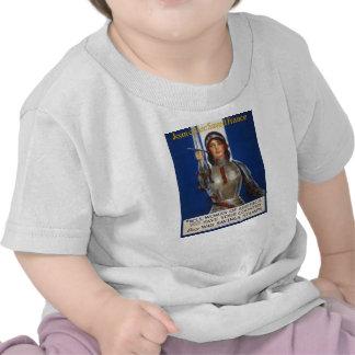 Joan of Arc World War I Buy War Saving Stamps Shirts