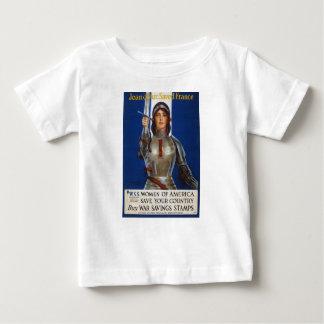 Joan of Arc World War I Buy War Saving Stamps Infant T-shirt