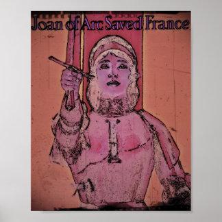 Joan of Arc WWII Buy Bonds Poster