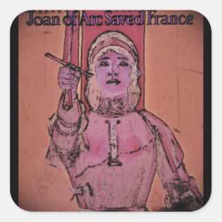 Joan of Arc WWII Buy Bonds Sticker