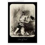 Joan Of Arch Greeting Card