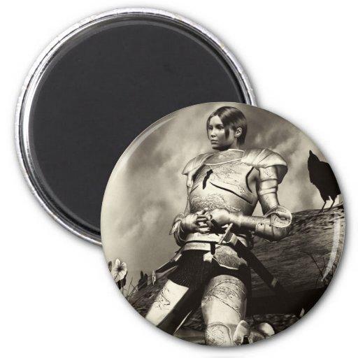 Joan Of Arch Refrigerator Magnet