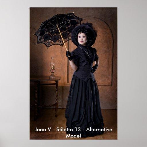 Joan V - Estilete 13 - Poster modelo del Alt