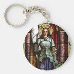 Joana d'Arc Llavero Redondo Tipo Pin