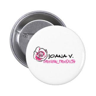 Joana V Original 2 Inch Round Button