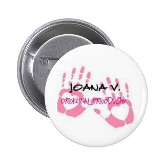 Joana V Original Products 2 Inch Round Button