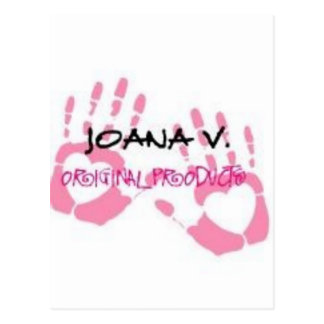 Joana V Original Products Postcard