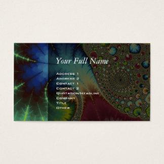 Joanie 50 Fractal Art Business Card