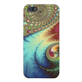 Joanie 50 Fractal Art iPhone SE/5/5s Case