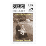 Joann and Ted, JoAnn and John 1950 Stamp