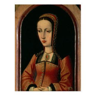 Joanna or Juana `The Mad' of Castile Postcard