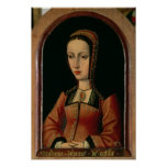 Joanna or Juana `The Mad' of Castile Print