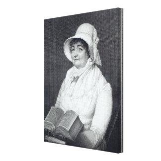 Joanna Southcott, 1812 Canvas Print