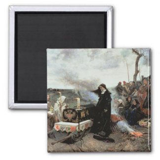 Joanna the Mad 2 Inch Square Magnet