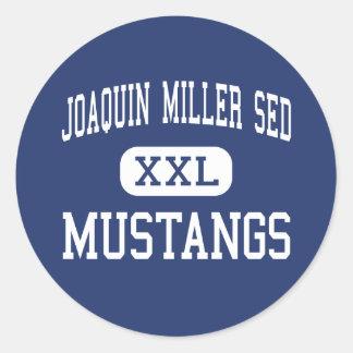 Joaquin Miller SED - Mustangs - High - Reseda Stickers