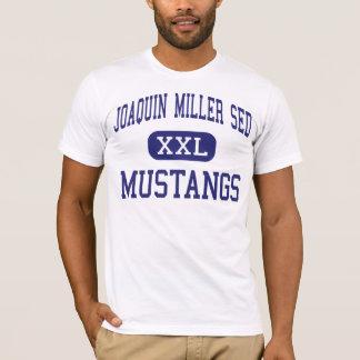 Joaquin Miller SED - Mustangs - High - Reseda T-Shirt