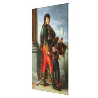 Joaquín Murat 1801 Lona Envuelta Para Galerías