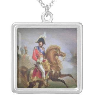 Joaquín Murat a caballo, 1814-15 Colgante Cuadrado
