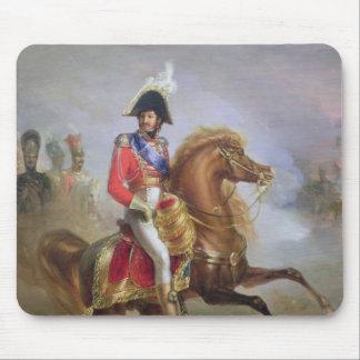 Joaquín Murat a caballo, 1814-15 Alfombrilla De Ratón