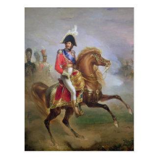 Joaquín Murat a caballo, 1814-15 Postales