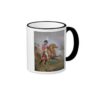 Joaquín Murat a caballo, 1814-15 Taza A Dos Colores