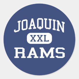 Joaquin - Rams - High School - Joaquin Texas Stickers