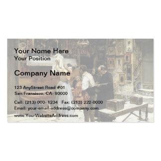 Joaquín Sorolla- Ex-voto Business Card