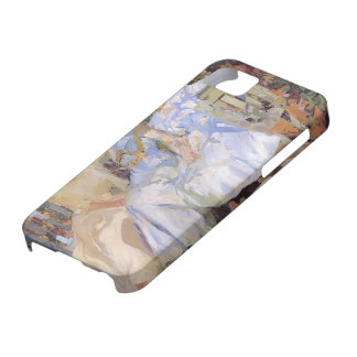 Joaquín Sorolla- My Wife & Daughters in the Garden iPhone 5 Covers