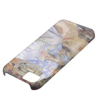 Joaquín Sorolla- My Wife & Daughters in the Garden iPhone 5C Cover