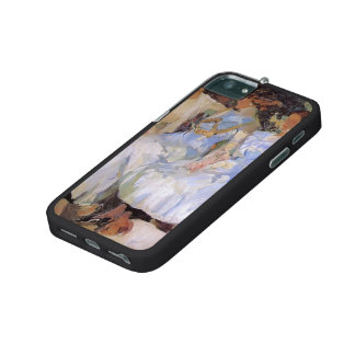 Joaquín Sorolla- My Wife & Daughters in the Garden iPhone 5/5S Covers