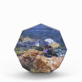Joaquín Sorolla- On the Rocks at Javea Acrylic Award