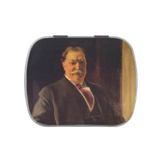 Joaquín Sorolla- Portrait of Mr. Taft, President Candy Tin