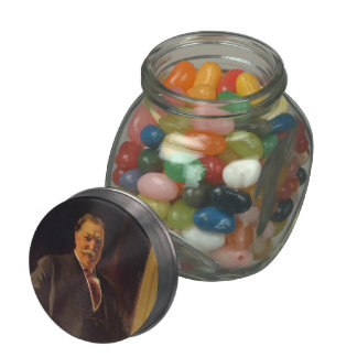 Joaquín Sorolla- Portrait of Mr. Taft, President Glass Jars