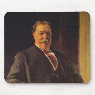Joaquín Sorolla- Portrait of Mr. Taft, President Mouse Pad