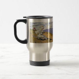 Joaquín Sorolla- Snapshot at Biarritz Coffee Mug